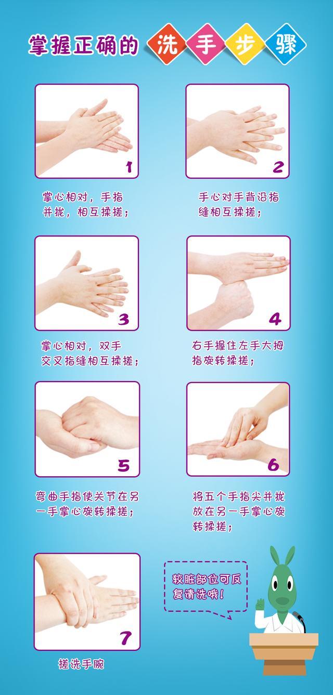 教你如何给宝宝正确洗手
